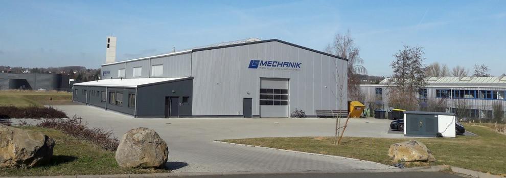 Gebäudekomplex LS-Mechanik GmbH